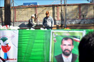تشییع شهید حاج علی مرتضایی از جانبازان دفاع مقدس
