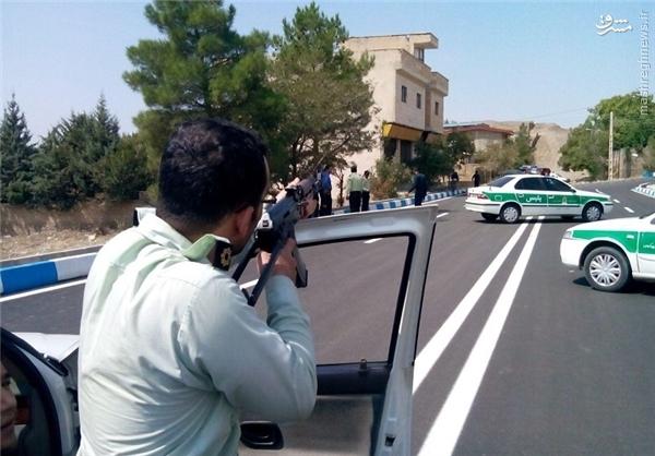 تعقیب و گریز مسلحانه در نجف آباد تعقیب و گریز مسلحانه تعقیب و گریز مسلحانه در نجف آباد