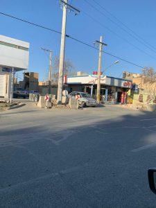 اداره برق تیر برق تیر برق، وسط خیابان کاشته شد+ تصاویر                                                 1 225x300