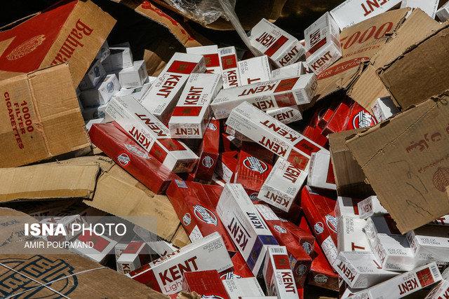 کشف ۱۴۰ میلیون سیگار قاچاق در نجف آباد کشف 140 میلیون سیگار قاچاق در نجف آباد کشف 140 میلیون سیگار قاچاق در نجف آباد