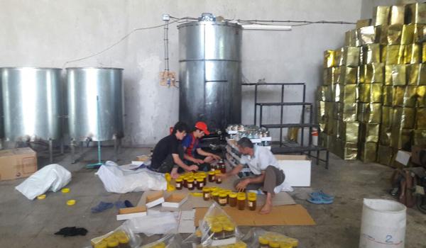 کشف و ضبط ۶۰ تن عسل تقلبی در نجف آباد کشف و ضبط کشف و ضبط 60 تن عسل تقلبی در نجف آباد