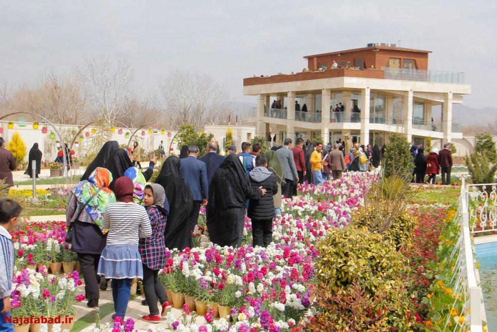 باغ گل ها جاذبه های گردشگری جاذبه های گردشگری نجف آباد، 290 هزار بازدید کننده داشت                                    1024x683