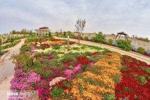 باغ گل های نجف آباد