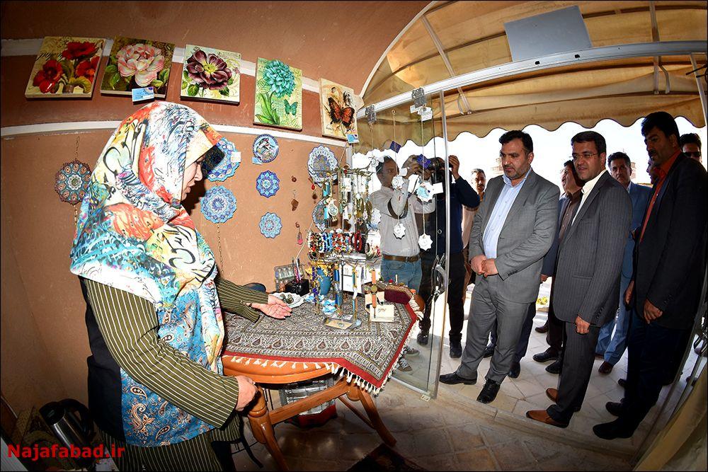 جشنواره جشنواره عسل، زعفران و بادام در نجف آباد+ تصاویر و فیلم                                               7