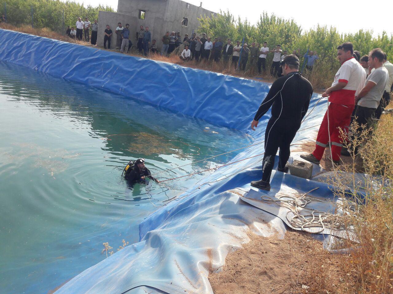 غرق شدن 2نفر در دانشگاه آزاد نجف آباد