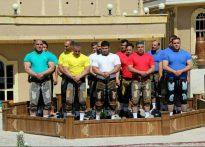 مسابقه قوی ترین مردان زورخانه ای ایران در نجف آباد + فیلم مسابقه قوی ترین مردان مسابقه قوی ترین مردان زورخانه ای ایران در نجف آباد + فیلم                                                           2 205x147