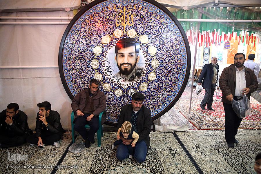 مزار شهید حججی مزار شهید مزار شهید محسن حججی در نوروز98 + تصویر                                     1