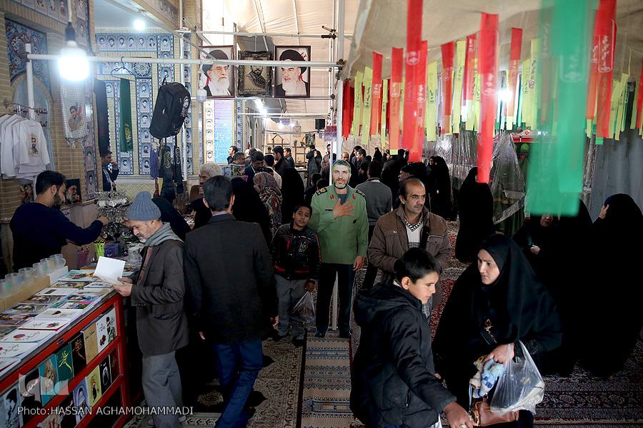 مزار شهید مزار شهید محسن حججی در نوروز98 + تصویر                                     8