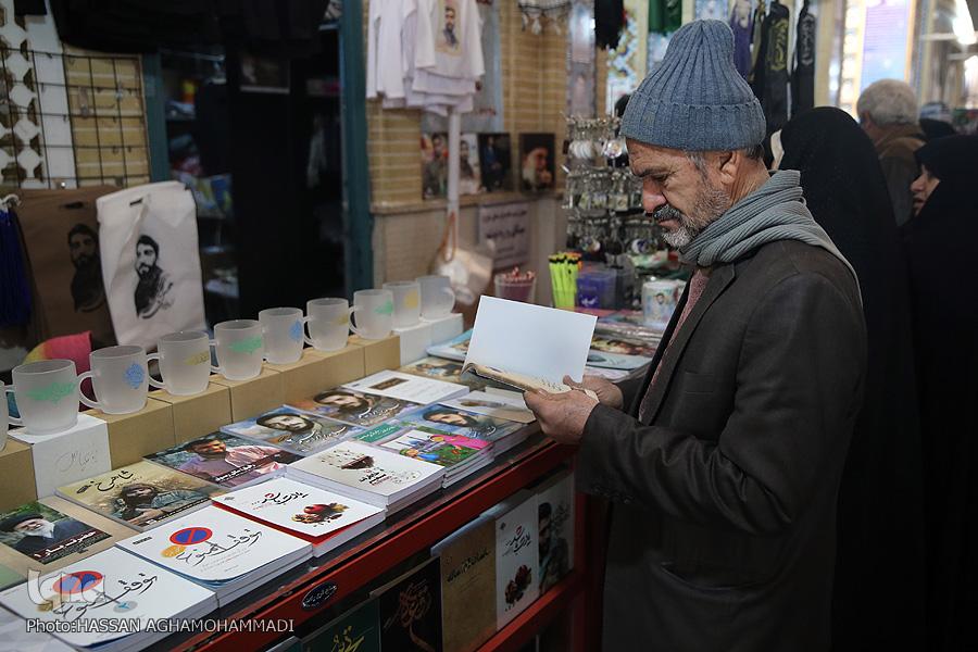 مزار شهید محسن حججی مزار شهید مزار شهید محسن حججی در نوروز98 + تصویر                                     9