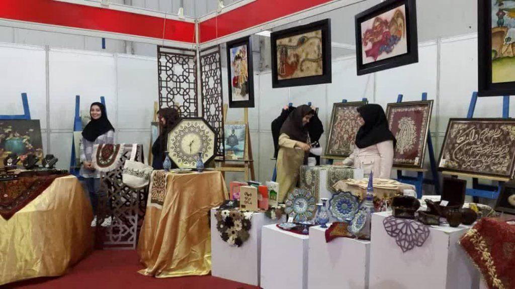صنایع دستی نمایش نمایش آثار دانشجویان سمیه در نمایشگاه بین المللی + تصاویر                         1 1024x576