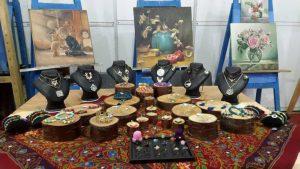 صنایع دستی دانشجویان نمایش نمایش آثار دانشجویان سمیه در نمایشگاه بین المللی + تصاویر                         2 300x169