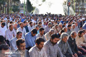 نماز عید فطر تصاویر تصاویر برگزاری نماز عید فطر در نجف آباد                       98                      13 300x200