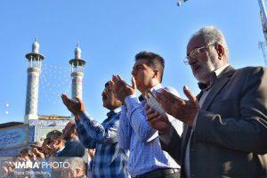 نماز عید فطر تصاویر تصاویر برگزاری نماز عید فطر در نجف آباد                       98                      14 300x200