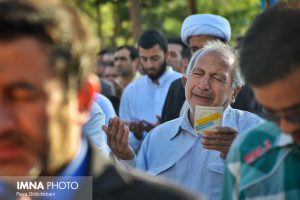 نماز عید فطر تصاویر تصاویر برگزاری نماز عید فطر در نجف آباد                       98                      15 300x200
