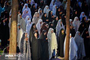 نماز عید فطر تصاویر تصاویر برگزاری نماز عید فطر در نجف آباد                       98                      2 300x200