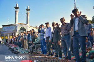 نماز عید فطر تصاویر تصاویر برگزاری نماز عید فطر در نجف آباد                       98                      3 300x200