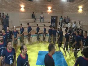 ورزش پهلوانی  نجف آباد نجف آباد بیش از دویست ورزشکار زورخانه ای دارد + فیلم                         4 300x225