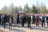 تدفین شهید گمنام در پادگان عاشورای نجف آباد + تصاویر تدفین تدفین شهید گمنام در پادگان عاشورای نجف آباد + تصاویر                                                               1 155x105