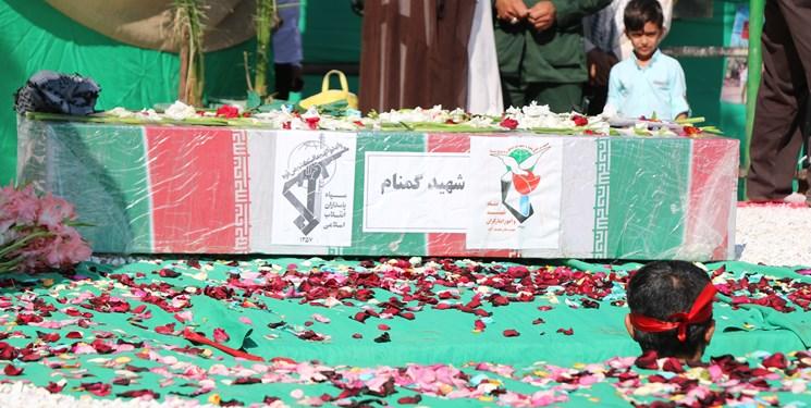 شهدای گمنام تدفین تدفین شهید گمنام در پادگان عاشورای نجف آباد + تصاویر                                                               2