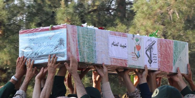 شهید گمنام تدفین تدفین شهید گمنام در پادگان عاشورای نجف آباد + تصاویر                                                               6