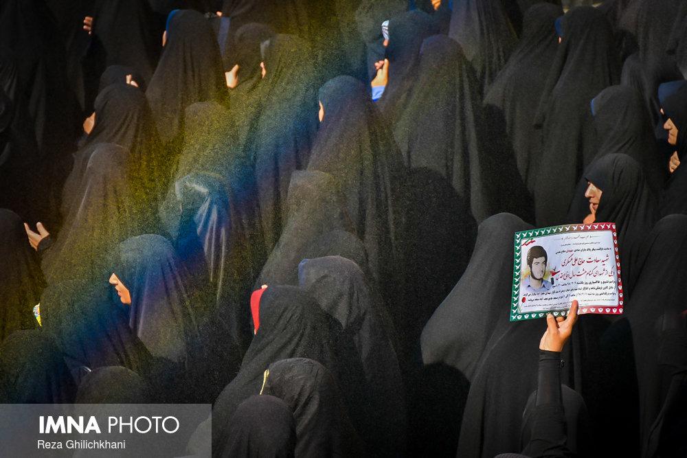 شهدای تفحص تشییع تشییع دو شهید در نجف آباد + تصاویر                                                                              1