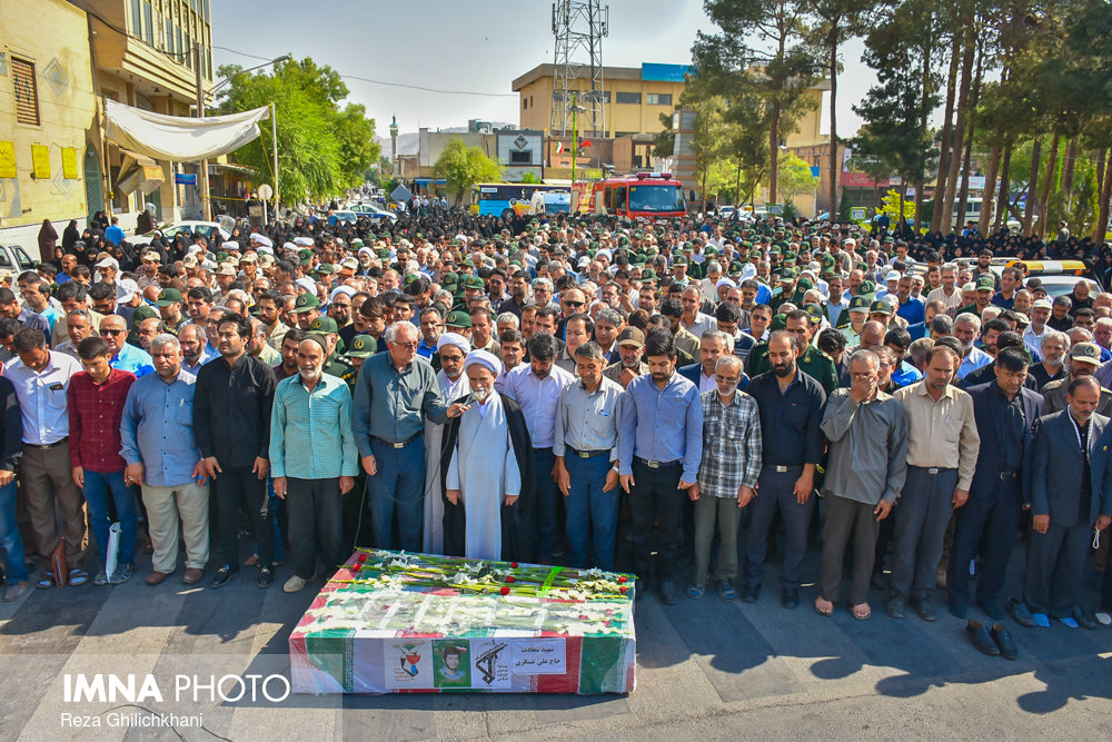 رضا قلیچ خانی تشییع تشییع دو شهید در نجف آباد + تصاویر                                                                              10