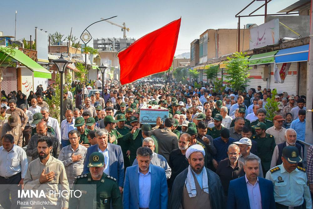 تفحص شهدا تشییع تشییع دو شهید در نجف آباد + تصاویر                                                                              12