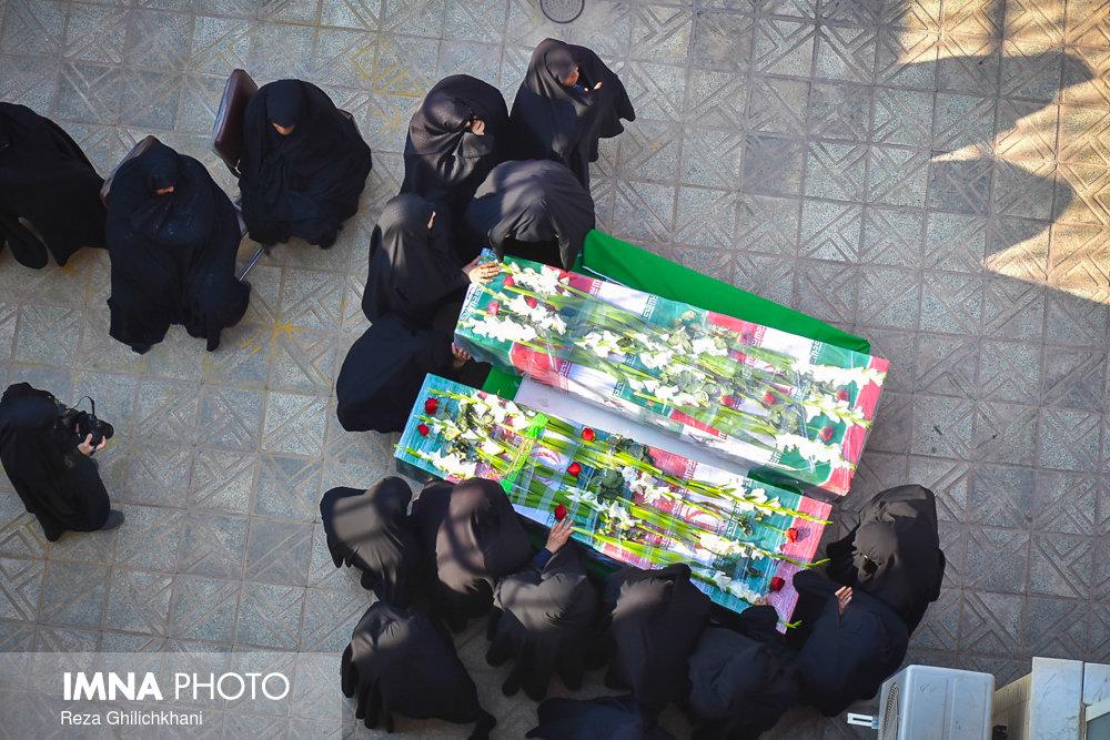 تشییع شهدا تشییع تشییع دو شهید در نجف آباد + تصاویر                                                                              5