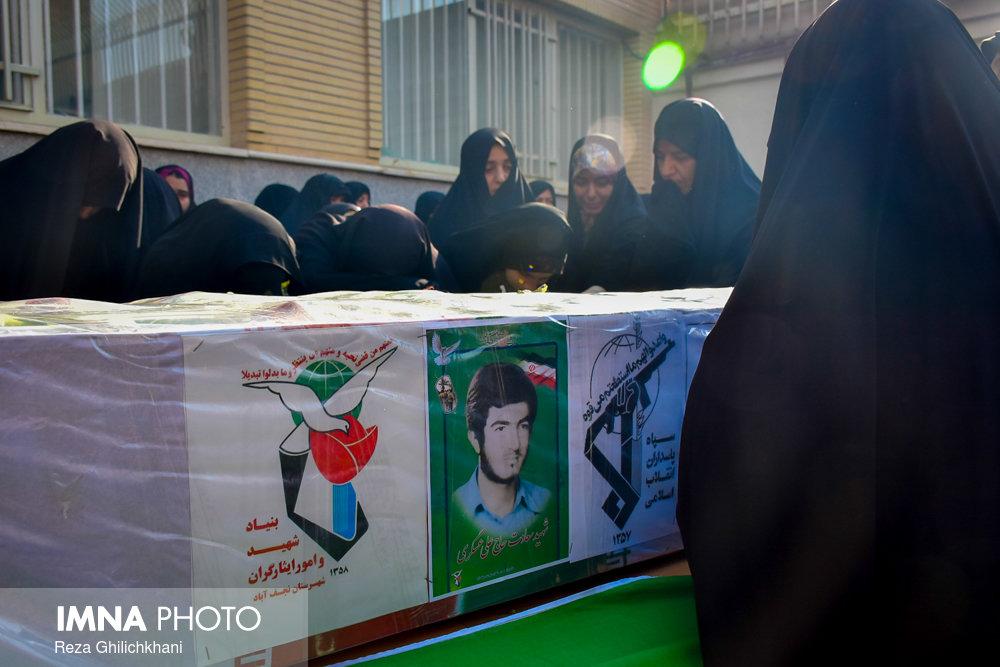 شهید تشییع تشییع دو شهید در نجف آباد + تصاویر                                                                              7