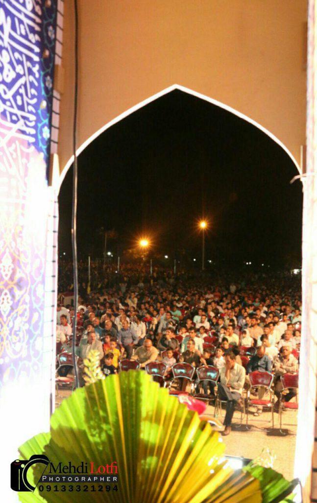جشن اولین اولین شب از جشن ولادت امام رضا در نجف آباد+ تصاویر                                                                11 647x1024