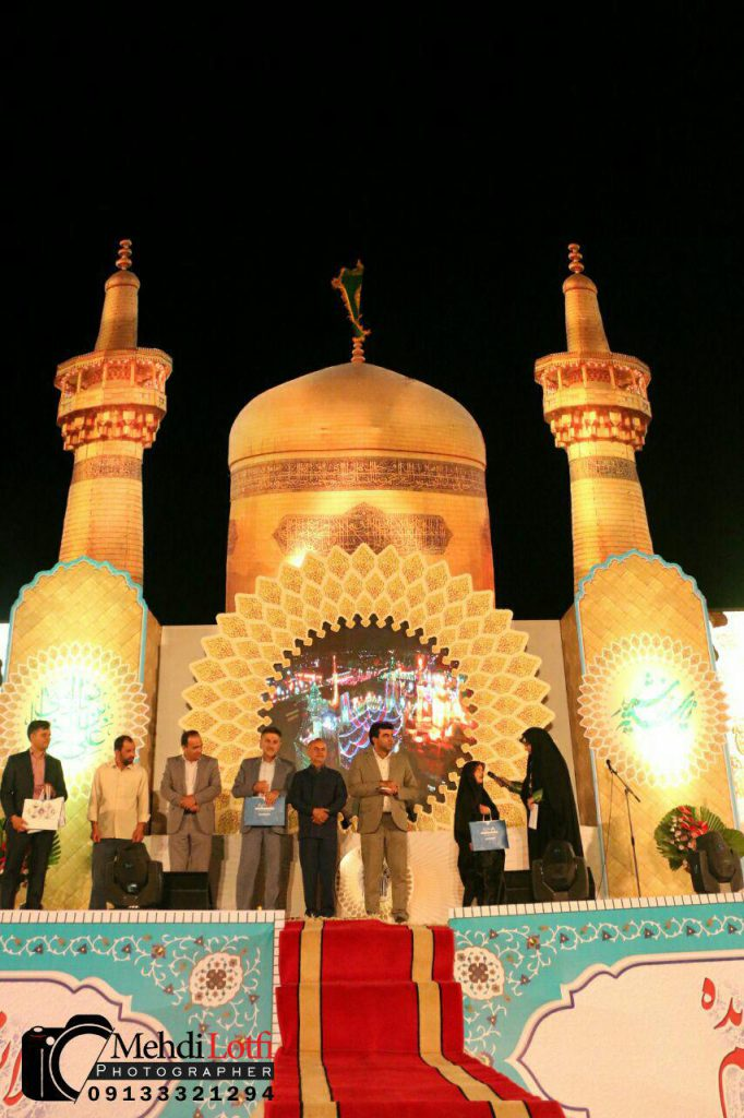 جشن میلاد امام رضا اولین اولین شب از جشن ولادت امام رضا در نجف آباد+ تصاویر                                                                18 682x1024