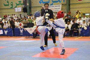 مسابقات کاراته رقابت رقابت ۶۵۰ کاراته کا در مسابقات کشوری در دانشگاه آزاد + تصاویر                                                          1 300x200