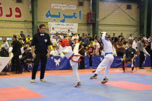 مسابقات ورزشی رقابت رقابت ۶۵۰ کاراته کا در مسابقات کشوری در دانشگاه آزاد + تصاویر                                                          5 300x200