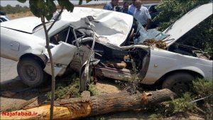 تصادف یک کشته در برخورد پراید با کامیون یک کشته در برخورد پراید با کامیون                                              1 300x169
