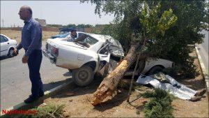 تصادف تصادف مرگبار تصادف مرگبار در نجف آباد + تصاویر                                              3 300x169