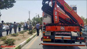 تصادف در نجف آباد تصادف مرگبار تصادف مرگبار در نجف آباد + تصاویر                                              5 300x169