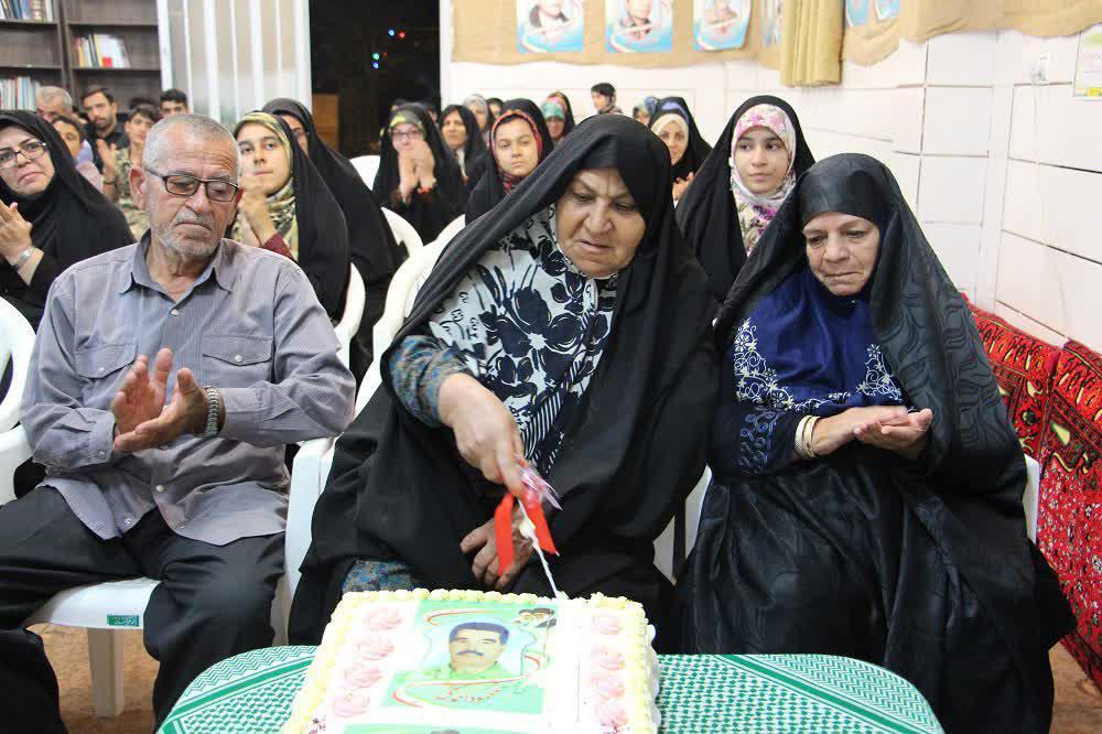 جشن تولد سه شهید + تصاویر
