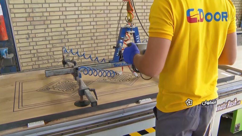 صادرات متنوع متنوع ترین کارخانه دانش بنیان تولید pvc ایران در نجف آباد+ فیلم و عکس                                   6 1024x576