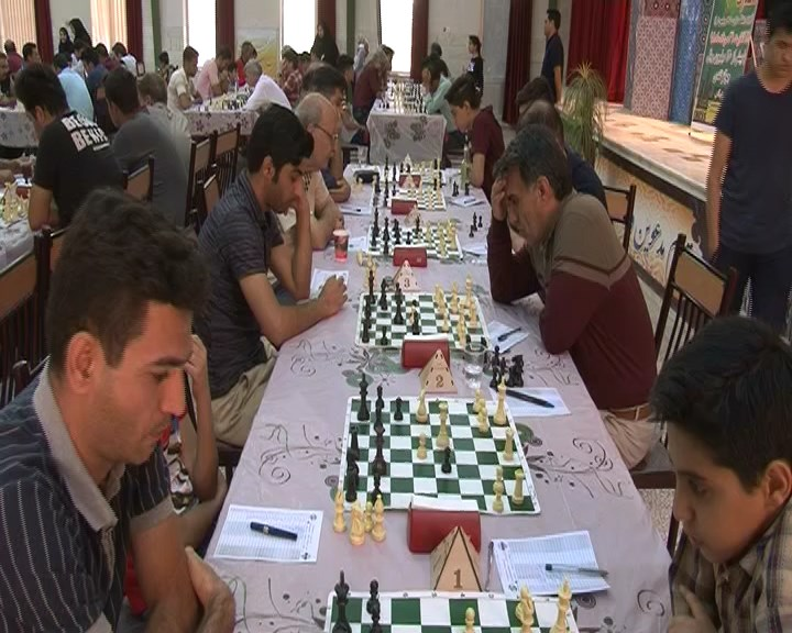 مسابقات مسابقات مسابقات شطرنج آزاد کشور بزرگداشت شهید حججی + تصاویر                           3