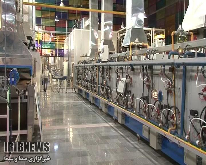 افتتاح کارخانه نان صادراتی در نجف آباد + تصاویر