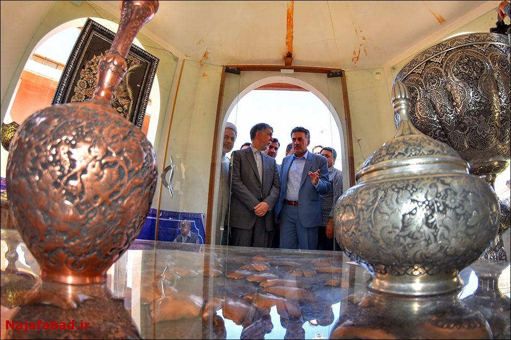 افتتاح افتتاح گذر فرهنگ و هنر نجف آباد + فیلم و تصاویر                             12