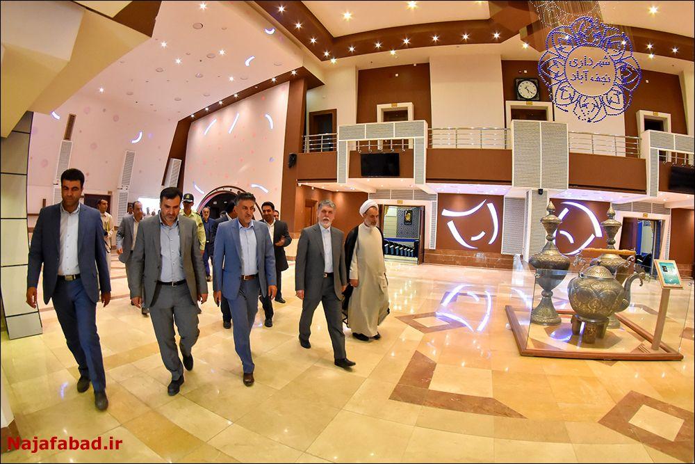 افتتاح افتتاح گذر فرهنگ و هنر نجف آباد + فیلم و تصاویر                             3
