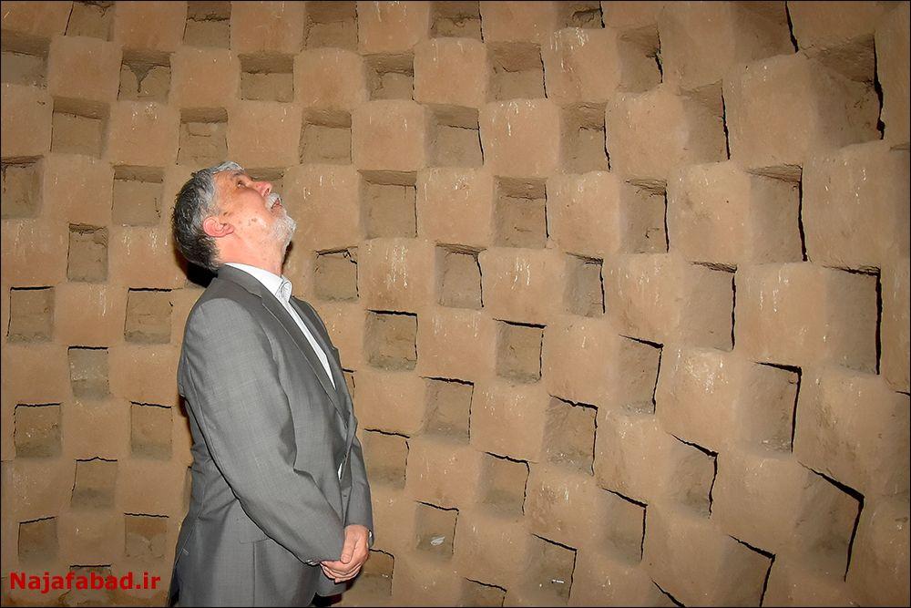 افتتاح افتتاح گذر فرهنگ و هنر نجف آباد + فیلم و تصاویر                             7