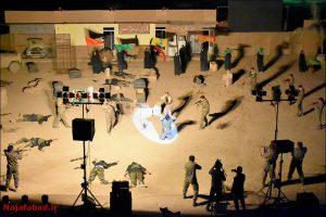 نمایش میدانی نمایش نمایش میدانی در مسیر جاودانگی در نجف آباد + تصاویر و فیلم                                                        7 300x200