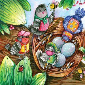 کتاب کودکانه چی میگن پرنده ها انتشار انتشار کتاب شعر کودکانه با موضوع امام حسین+ تصاویر                                        14 300x300