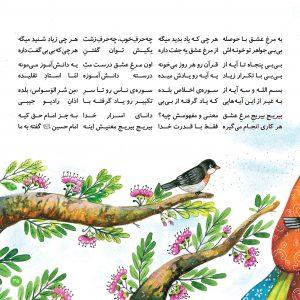کتاب کودکانه چی میگن پرنده ها انتشار انتشار کتاب شعر کودکانه با موضوع امام حسین+ تصاویر                                        2 300x300
