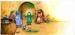 کتاب کودکانه انتشار انتشار کتاب شعر کودکانه با موضوع امام حسین+ تصاویر                                        5 300x142