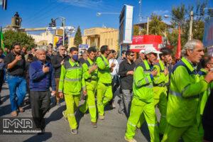 راهپیمایی اربعین 98 در نجف آباد پیاده روی پیاده روی اربعین 98 در نجف آباد + تصاویر                                 98                      16 300x200
