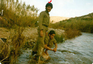 شهید غلامرضا صالحی سردار سردار شهید غلامرضا صالحی + تصاویر                                    49 300x206