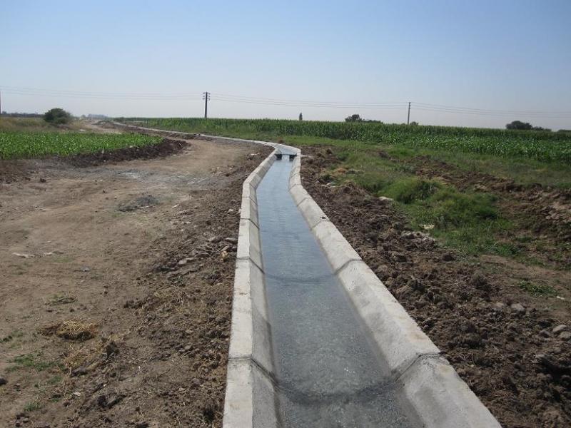 بهره برداری از کانال آب نهضت آباد